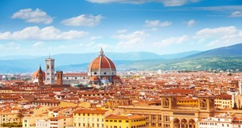 View of the Italian City of Florence