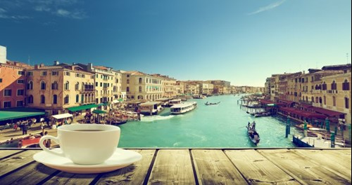 Coffee on the Canals of Venice